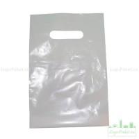 Пакет ПВД 20х30 см с вырубной ручкой и донной складкой заказать в интернет-магазине