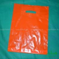 Пакет ПВД с вырубной ручкой 60*70 см