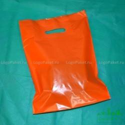 Пакет ПВД 60*70 с вырубной ручкой и донной складкой