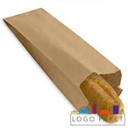 Крафт-пакет для багета без окна