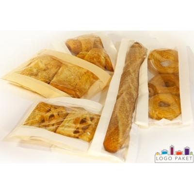 Пакеты для хлеба и выпечки бумажные, полипропиленовые