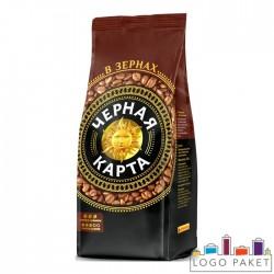 Пакет для кофе с боковыми складками без клапана дегазации