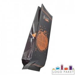 Пакет для кофе с боковыми складками