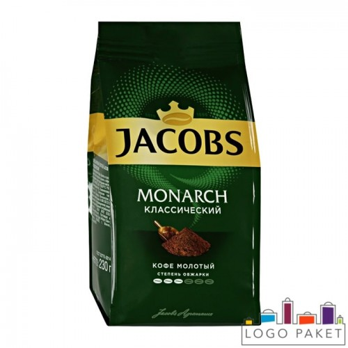 Пакет с боковыми складками (фальцами) для растворимого кофе без клапана дегазации