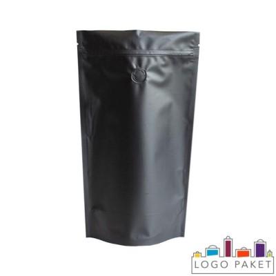 Пакет дой-пак для кофе с зип-замком и клапаном дегазации