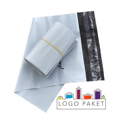 Курьерские пакеты 300х400+40 мм c карманом Спасибо за покупку