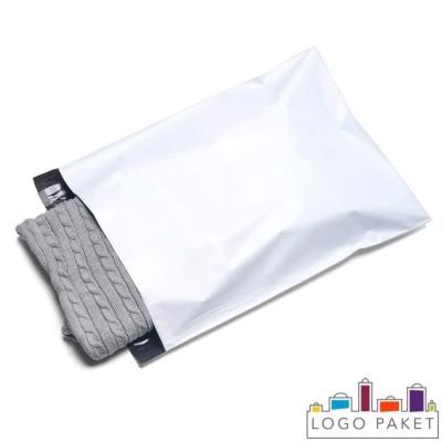 Курьерские пакеты белые с карманом