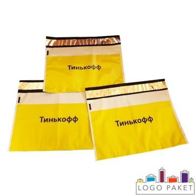 Курьерские пакеты с логотипом Тинькофф