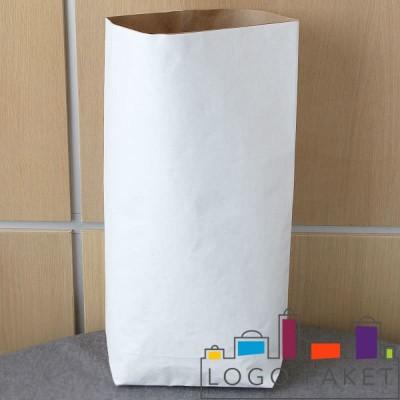 Бумажный мешок открытого типа белый