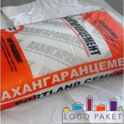 Крафт мешки под цемент с логотипом