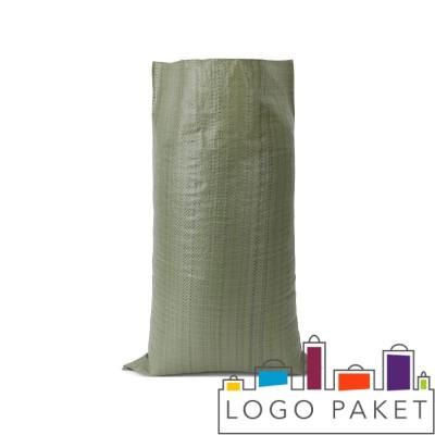 Зеленый полипропиленовый мешок