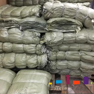 Зеленые полипропиленовые мешки для цемента