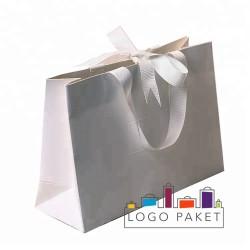 Пакеты из дизайнерской бумаги для одежды