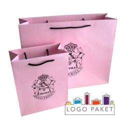 Пакеты из мелованной бумаги для одежды