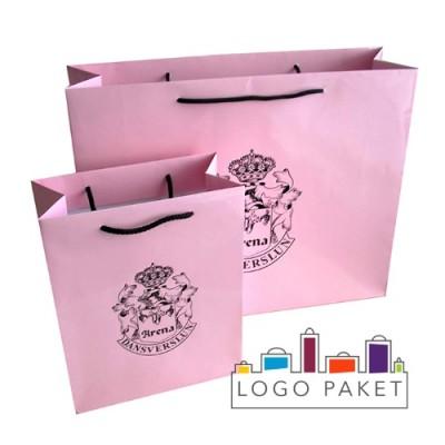 Пакеты для одежды из мелованной бумаги