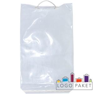 Пакет МПП 35х45+5 см с пластиковой ручкой