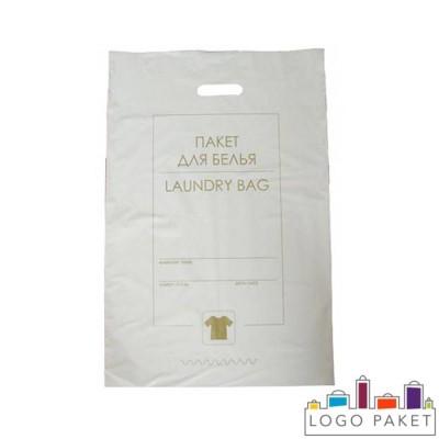 Пакет для белья с вырубными ручками 40х60 см