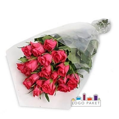 Пакеты для цветов с логотипом