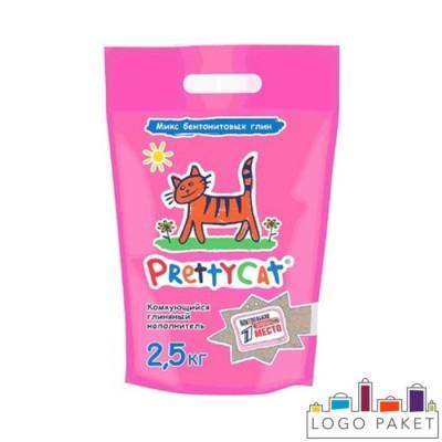 doy-pack для наполнителя кошачьего туалета с замком зип-лок и вырубной ручкой