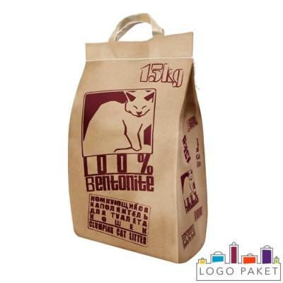 Крафт-пакет для наполнителя кошачьего туалета