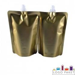 Пакет Дой-пак (doy pack) для майонеза  с центральным штуцером