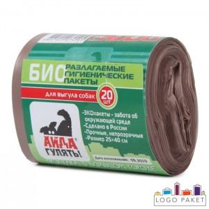 Биоразлагаемые пакеты для собак