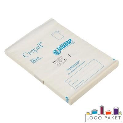 Пакеты для стерилизации из влагопрочной бумаги «СтериТ» со складкой