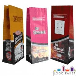 Крафт-пакет с боковыми складками для угля