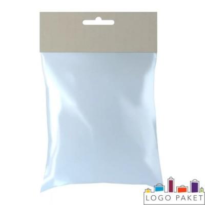 Пакет трехшовный для влажных салфеток с подвесным отверстием
