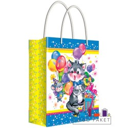 Детские подарочные пакеты на заказ