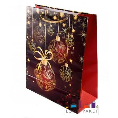 Подарочные пакеты на Рождество на заказ