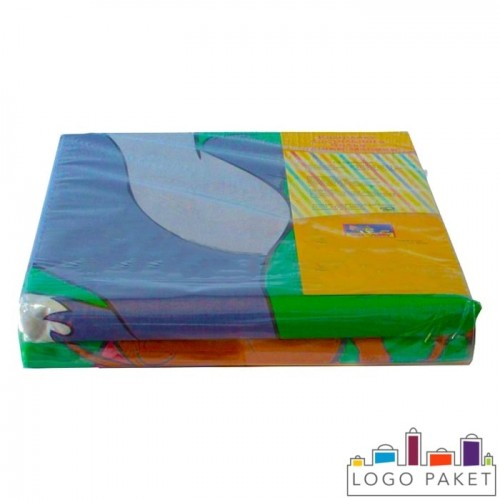 Пакет ПВХ со скотч-клапаном для постельного белья