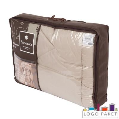 Сумка-чемодан ПВХ с ручками-шнурками и отделкой спанбондом