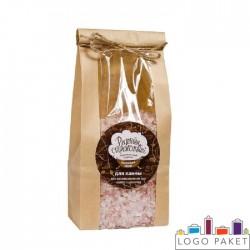 Крафт-пакет для соли для ванной