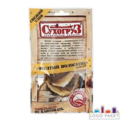 Вакуумные пакеты с еврослотом для сушеной рыбы