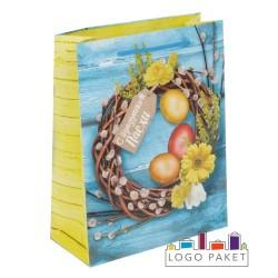 Подарочные пакеты пасхальные бумажные