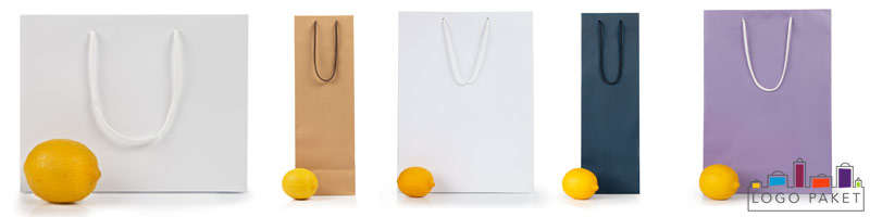Готовые бумажные пакеты ассортимент