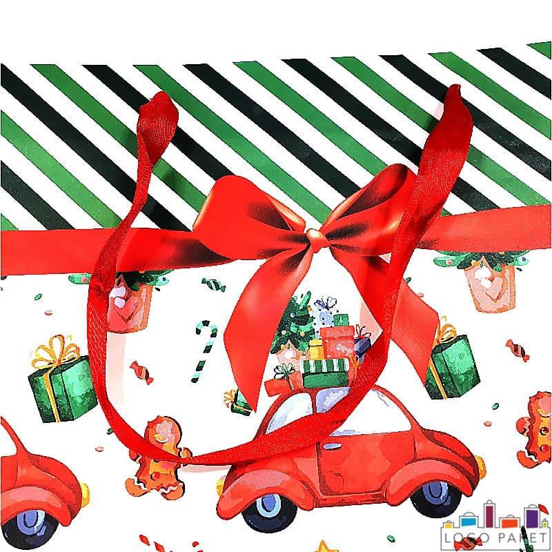Ручки бумажного пакета для подарков