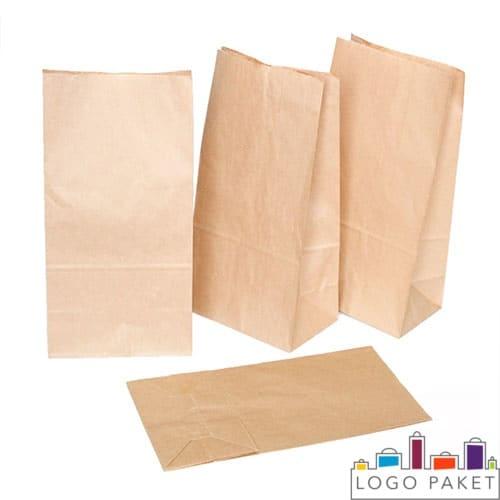 Бумажные пакеты крафт без ручек