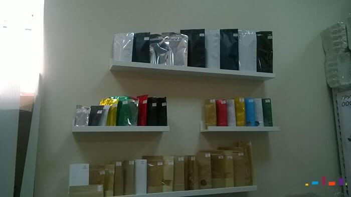 пакеты в офисе