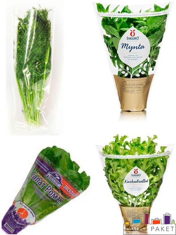 Пакеты для зелени Оглавление