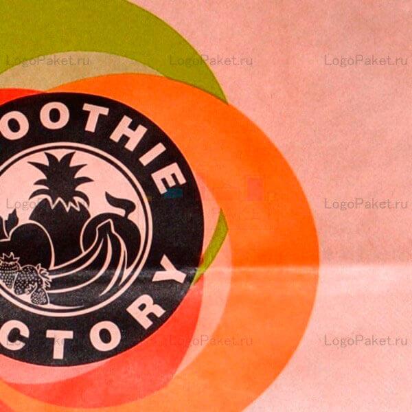 пакет крафт с логотипом