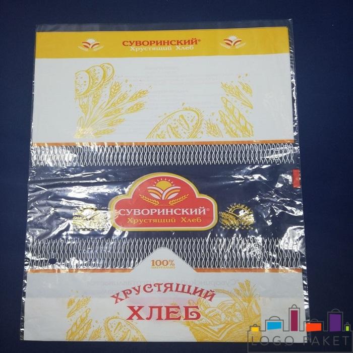Полипропиленовый пакет с донной складкой и печатью