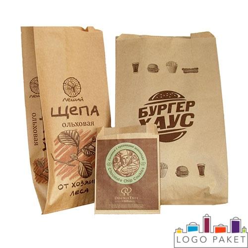 БОПП пакеты с печатью, полупрозрачные, для хлебных изделий