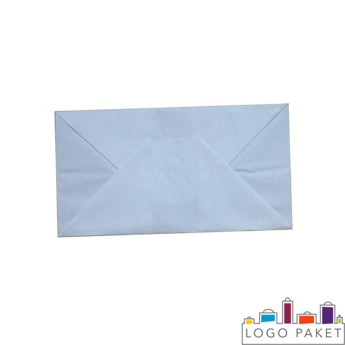 пакет крафт с логотипом вид снизу
