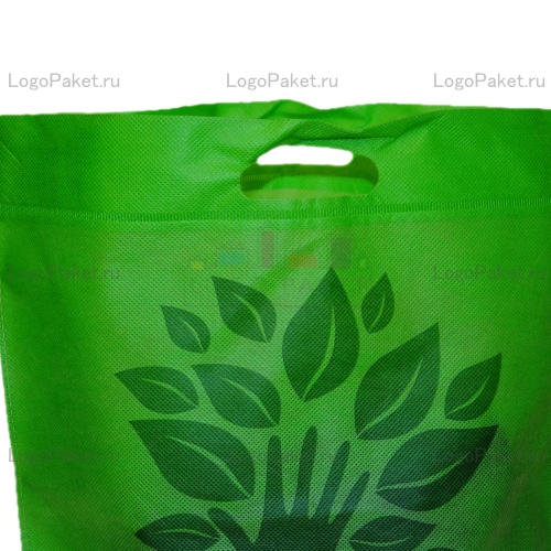 сумка из спанбонда с логотипом