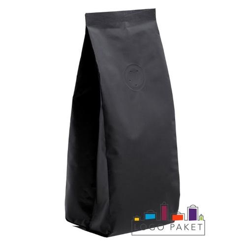 Трехшовный черный пакет с клапаном дегазации