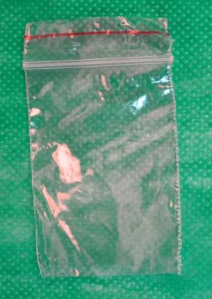 пакет 8х12 см с zip-lock замком