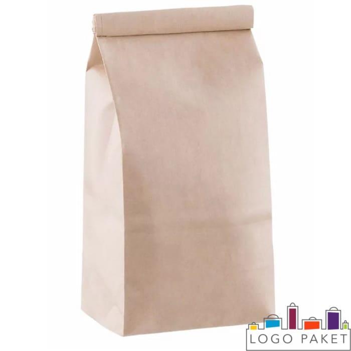 Бумажный пакет с центральным швом
