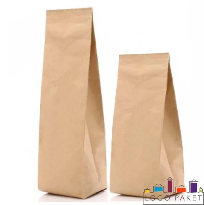 Бумажные пакеты с центральным швом на заказ